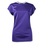 Brine Anthem Cap Sleeve Women's Game Jersey (Pur/Wht)