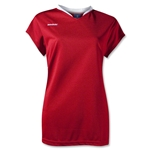 Brine Anthem Cap Sleeve Women's Game Jersey (Sc/Wh)