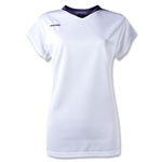 Brine Anthem Cap Sleeve Women's Game Jersey (Wh/Pu)