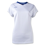 Brine Anthem Cap Sleeve Women's Game Jersey (Wh/Ro)