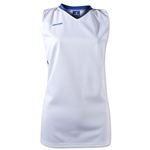 Brine Anthem Racer Back Women's Game Jersey (Wh/Ro)