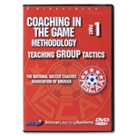 NSCAA Coaching In the Game 1 Teaching Game Tactics DVD