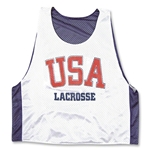 USA Lacrosse Reversible Training Jersey (Navy/White)