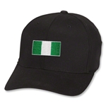 Nigeria Flex Fit Cap (Black)