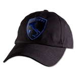 Azzuri Italy Crest Flex-Fit Hat (Black)