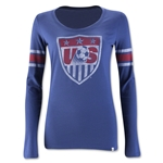 USA Women's LS Scoop T-Shirt