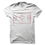 Heart Soccer Field Women's T-Shirt