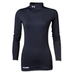 Under Armour Women's ColdGear Fitted Mock (Black)
