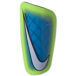 Nike Mercurial Lite Shinguard (Blue Lagoon/Volt/White)