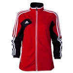 adidas Women's Condivo 12 Training Jacket (Red/Blk)
