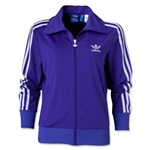 adidas Originals Women's Firebird Track Top (Pur/Wht)