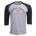 USA LS Raglan T-Shirt