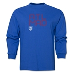 Atletico Madrid ATL MAD LS T-Shirt (Royal)