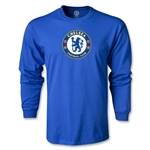 Chelsea Crest LS T-Shirt (Royal)