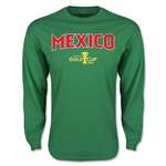 CONCACAF Gold Cup 2015 Mexico Big Logo LS T-Shirt (Green)