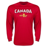 CONCACAF Gold Cup 2015 Canada Big Logo LS T-Shirt (Red)