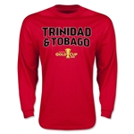 CONCACAF Gold Cup 2015 Trinidad & Tobago Men's Big Logo LS T-Shirt (Red)