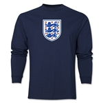 England Core LS T-Shirt (Navy)