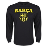 Barcelona Supporters Camiseta de Futbol ML (negra)