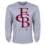 Barcelona Graphic Linked LS T-Shirt (Gray)