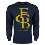 Barcelona Graphic Linked LS T-Shirt (Navy)
