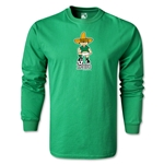 1970 FIFA World Cup Juanito Mascot LS T-Shirt (Green)