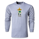 1970 FIFA World Cup Juanito Mascot LS T-Shirt (Gray)