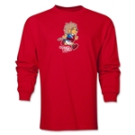 1966 FIFA World Cup Historical Mascot Men's Fashion T-Shirt (Red)