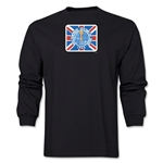 1966 FIFA World Cup Historical Poster Men's Fashion T-Shirt (Black)