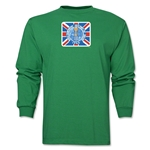 1966 FIFA World Cup Historical Poster Men's Fashion T-Shirt (Green)