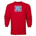1966 FIFA World Cup Historical Poster Men's Fashion T-Shirt (Red)