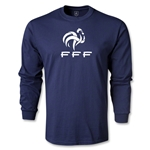 France FFF LS T-Shirt (navy)