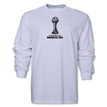 FIFA Club World Cup Morocco 2014 Official Emblem LS T-Shirt (White)