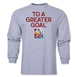 FIFA Women's World Cup LS T-Shirt (Gray)
