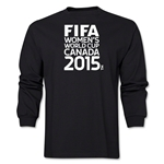 FIFA Women's World Cup Canada 2015(TM) Logotype LS T-Shirt (Black)