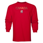 Canada FIFA Women's World Cup Canada 2015(TM) LS T-Shirt (Red)