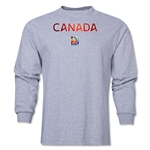 Canada FIFA Women's World Cup Canada 2015(TM) LS T-Shirt (Grey)