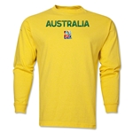 Australia FIFA Women's World Cup Canada 2015(TM) LS T-Shirt (Yellow)