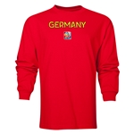 Germany FIFA Women's World Cup Canada 2015(TM) LS T-Shirt (Royal)
