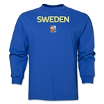 Sweden FIFA Women's World Cup Canada 2015(TM) LS T-Shirt (Royal)