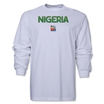 Nigeria FIFA Women's World Cup Canada 2015(TM) LS T-Shirt (White)