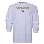 Cameroon FIFA Women's World Cup Canada 2015(TM) LS T-Shirt (White)