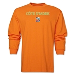 Cote d'Ivoire FIFA Women's World Cup Canada 2015(TM) LS T-Shirt (Orange)