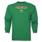 Mexico FIFA Women's World Cup Canada 2015(TM) LS T-Shirt (Green)