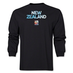 New Zealand FIFA Women's World Cup Canada 2015(TM) LS T-Shirt (Black)