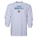 New Zealand FIFA Women's World Cup Canada 2015(TM) LS T-Shirt (White)