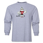 FIFA Women's World Cup Canada 2015(TM) Mascot Pose 1 LS T-Shirt (Grey)