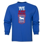Ipswich Town We Are LS T-Shirt (Royal)