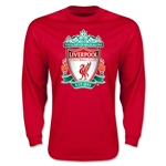 Liverpool Crest LS T-Shirt (Red)