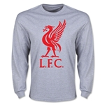 Liverpool Liver Bird LS T-Shirt (Gray)
